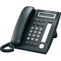 KX-NT321-B Panasonic Black IP Telephone 8 CO buttons 1-Line LCD 2nd LAN Por
