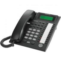KX-T7735-B Panasonic RefurbishedAdvanced Hybrid Proprietary Telephone 3-Line Backlit LCD Speakerphone KX-T7735B Black