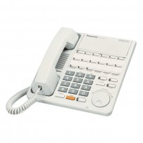 KX-T7420 Panasonic Refurbished Digital 12-Line Speakerphone XDP White