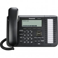 KX-UT136B Panasonic Standard SIP Phone with 6 line Backlit LCD Display